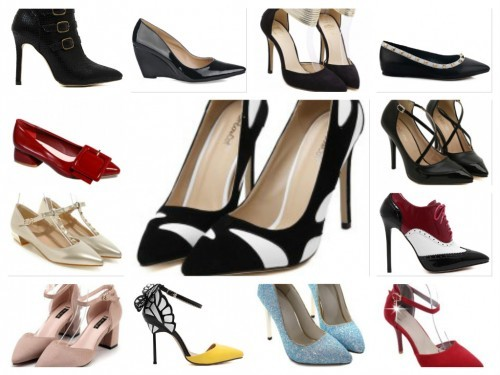 pantofi cu varf ascutit