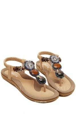 sandale de vara cu pietre Zaful