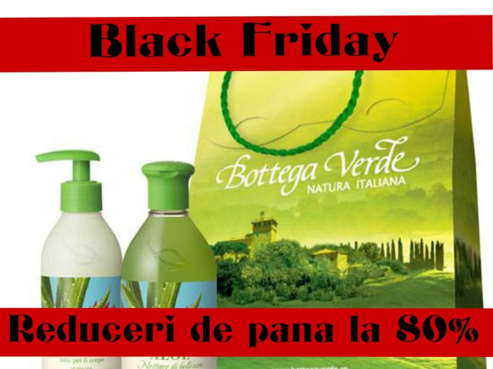 black friday bottega verde