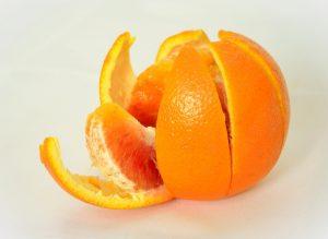 miros de coji de portocale