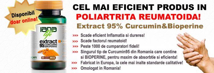 poliartrită tratament curcumin