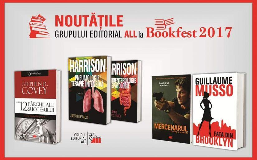 Noutatile ALL la Bookfest 2017