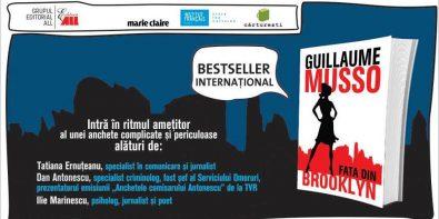 lansare carte fata din brooklyn