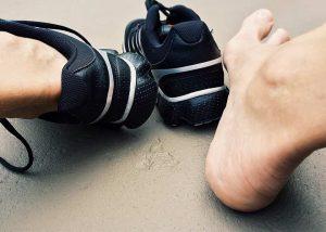 pantofii potriviți bătături