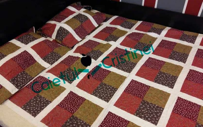 cuvertura de pat bumbac matlasat