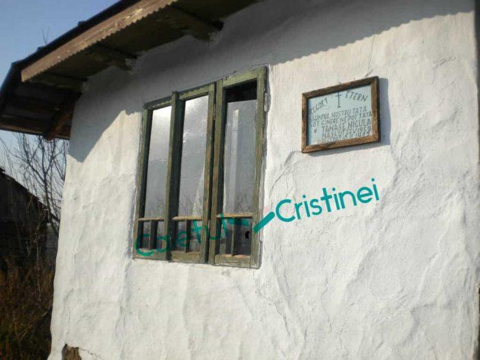 casa copilăriei mele satul Talpa