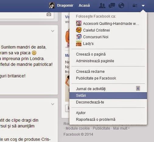 urmarirea pe facebook