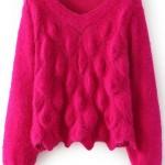 pulover roz