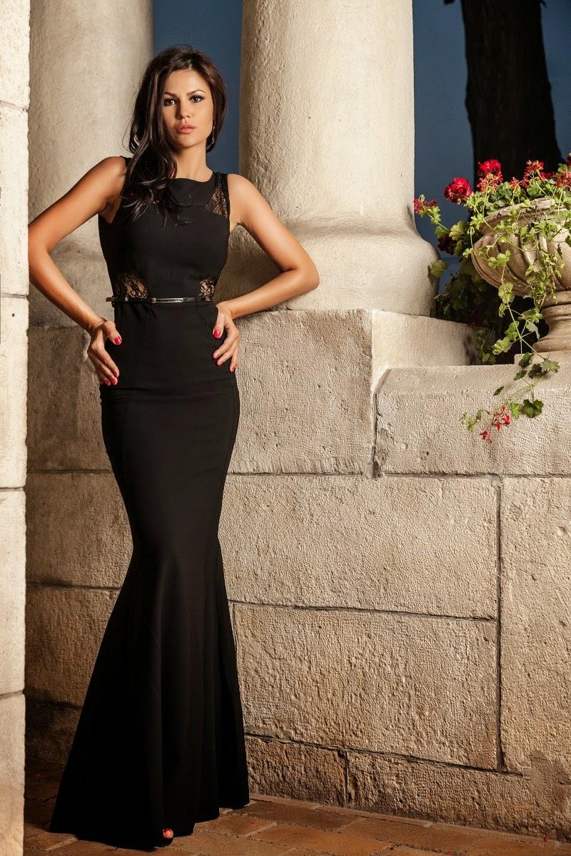 rochii de seara negre