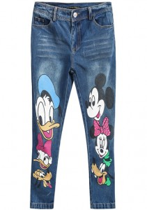blugi cu Mickey Mouse