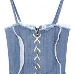 corset denim