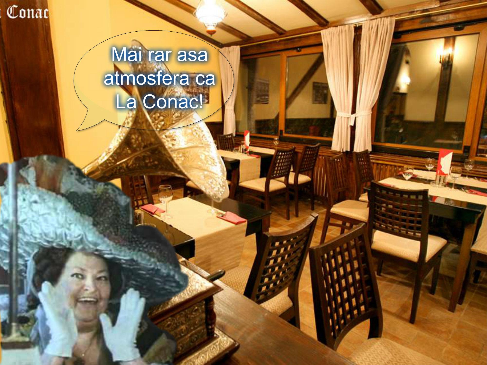 restaurantul La Conac