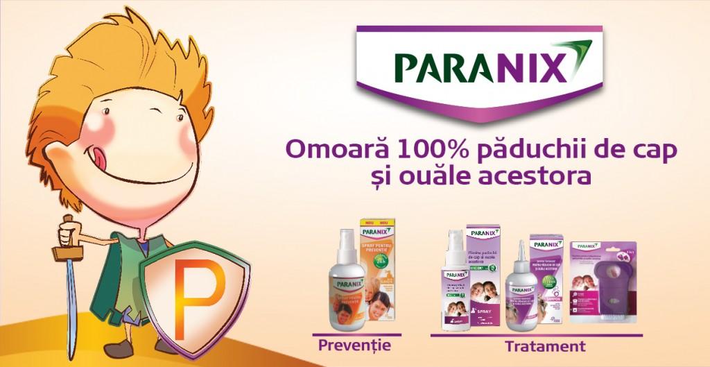 tratament paduchi paranix