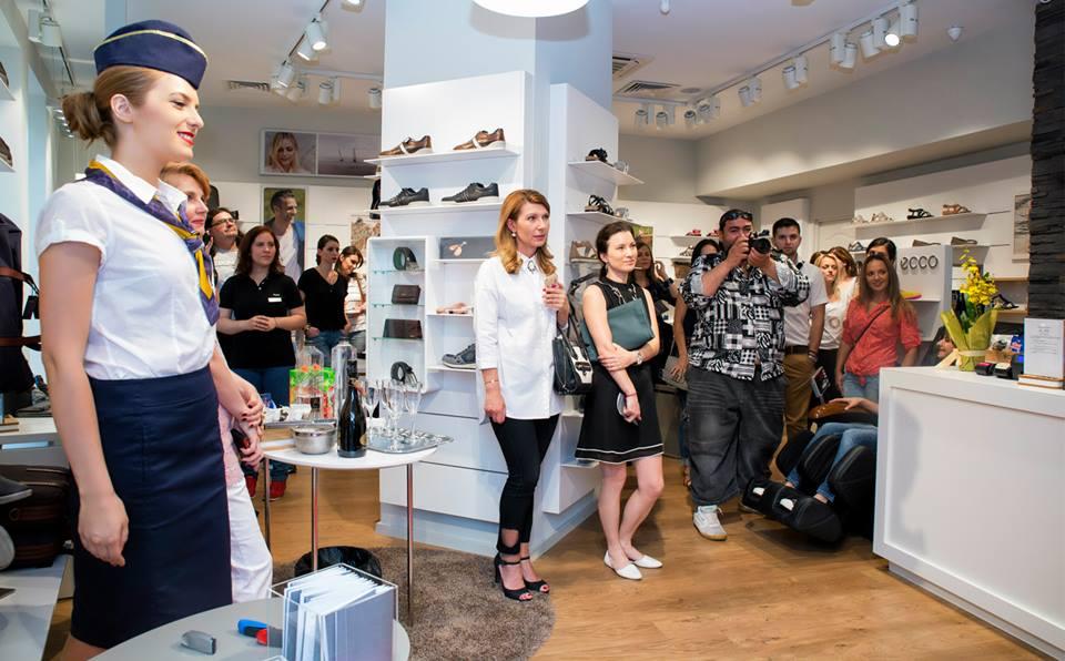 deschiderea magazinului ECCO Shoes din Dorobanti