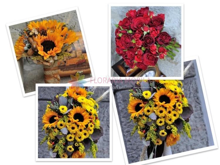 buchete floarea soarelui
