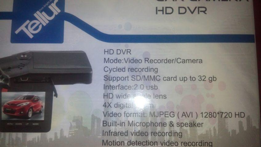 DVR Tellur Black Box