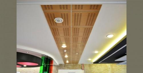 tavan din lemn
