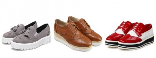 pantofi sporty oxfords