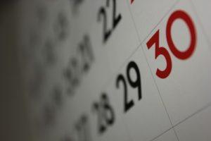 calendar evenimente si targuri
