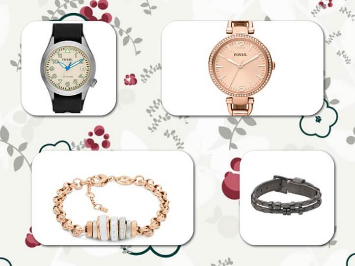ceasuri și bijuterii Fossil