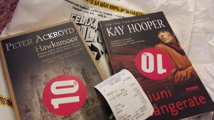 Hawksmoor, de Peter Ackroyd, și Viziuni Însângerate, de Kay Hooper