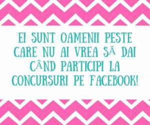 comportamente nesimțite la concursurile pe Facebook