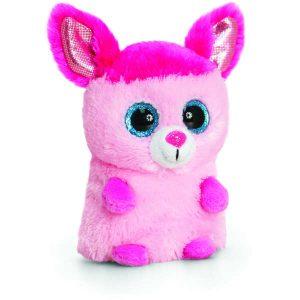 jucărie roz de pluș
