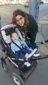 la plimbare cu bebe