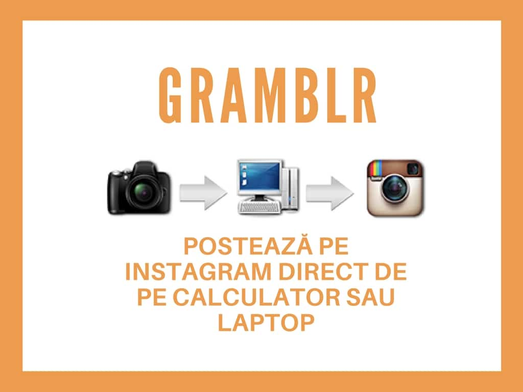 program Gramblr Postează pe Instagram direct de pe calculator sau laptop