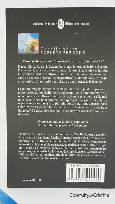 cecelia ahern suflete pereche coperta