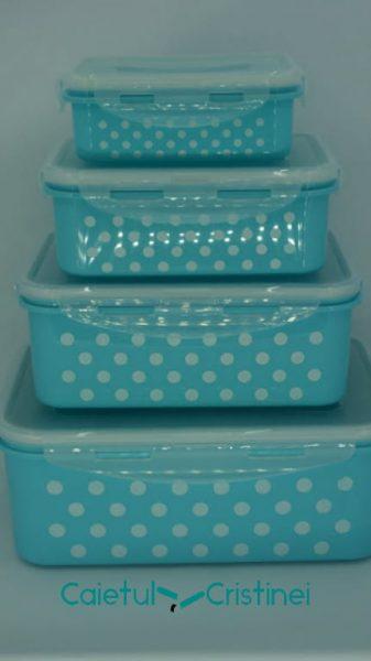 set cutii alimentare