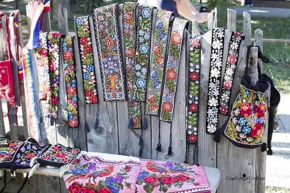 targ obiecte traditionale muzeul satului