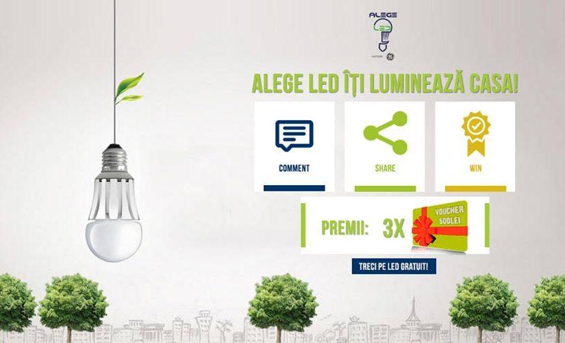 concurs becuri cu LED
