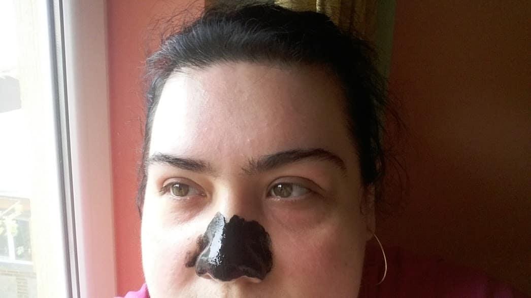 masca neagră pentru puncte negre nas