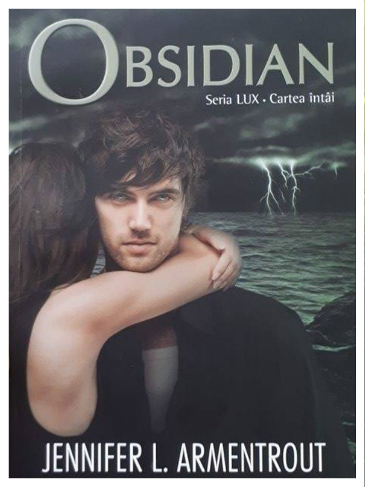 cartea întâi seria LUX - Obsidian