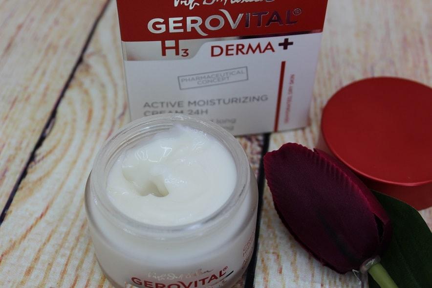 crema activ hidratantă 24h Gerovital H3 Derma+
