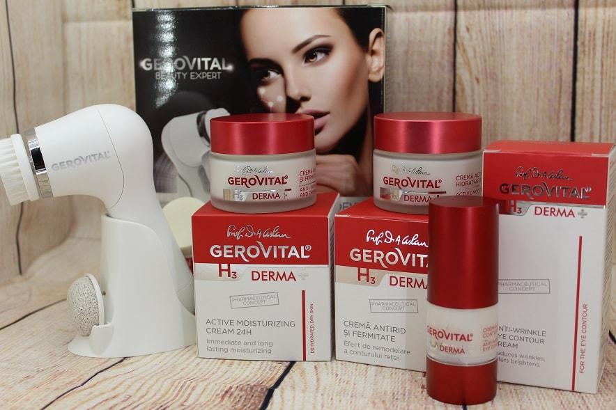 produse Gama Gerovital H3 Derma+