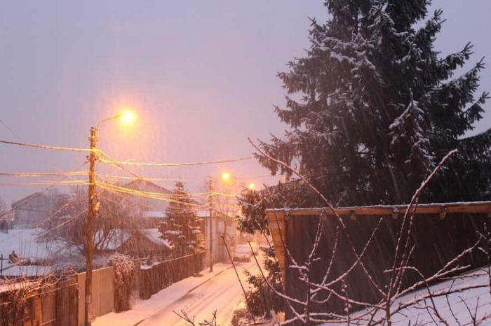 Aș vrea să ningă în fiecare zi