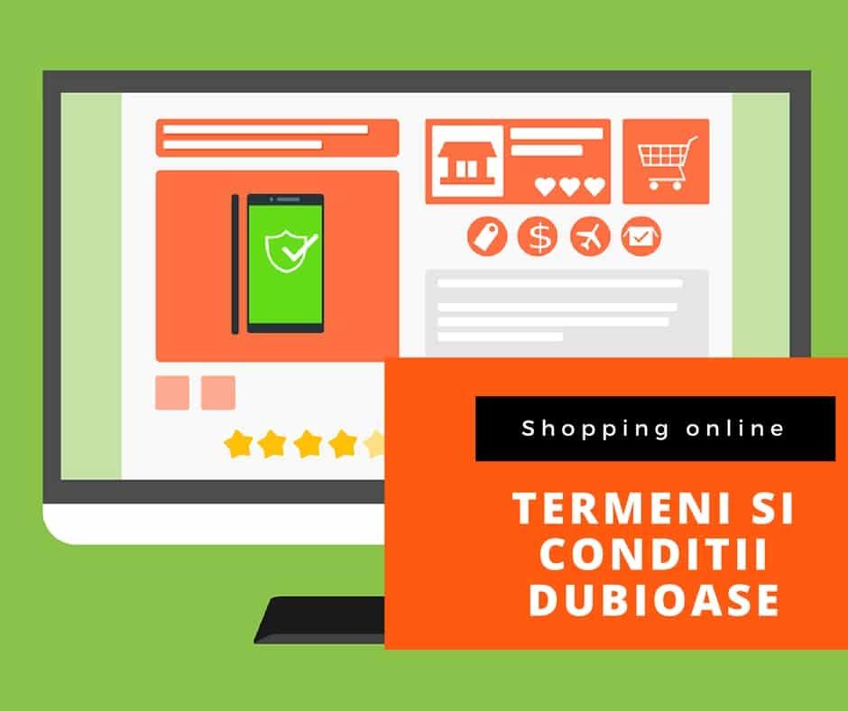 Termeni și condiții in magazinele online
