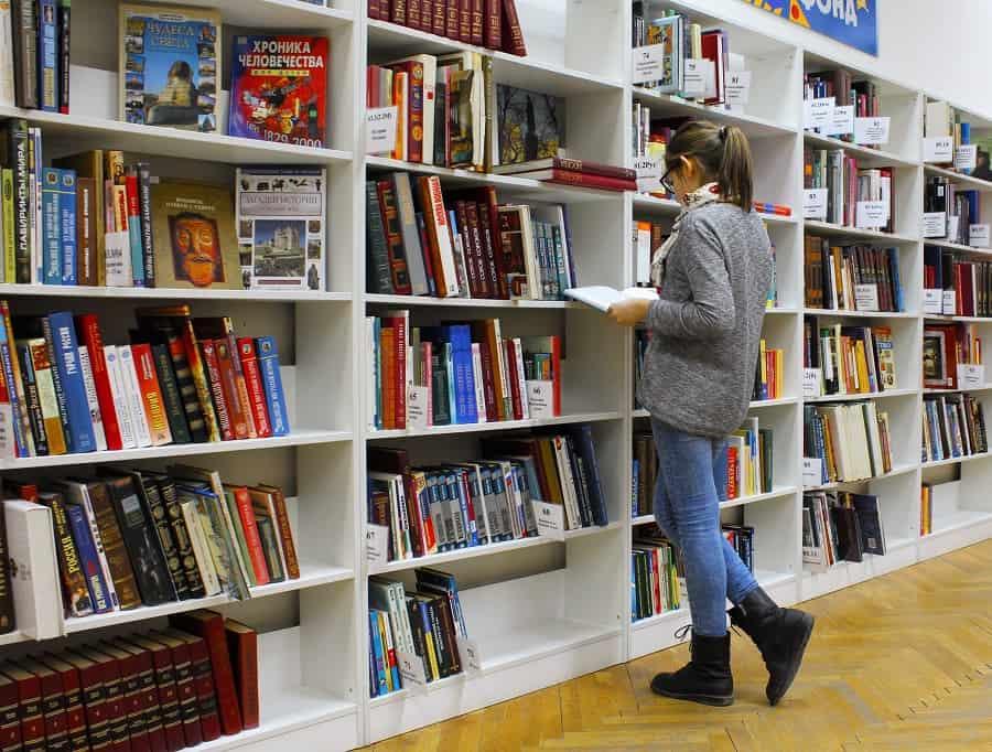la mall la librărie