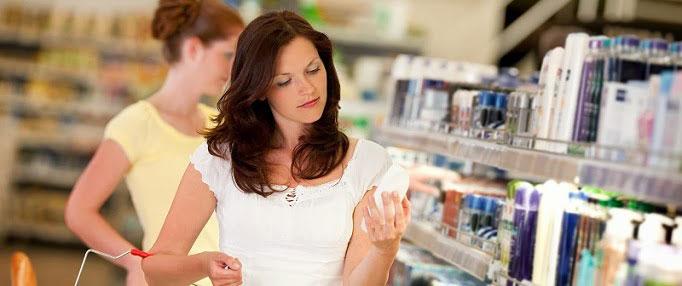 alegerea produselor cosmetice cumparaturi