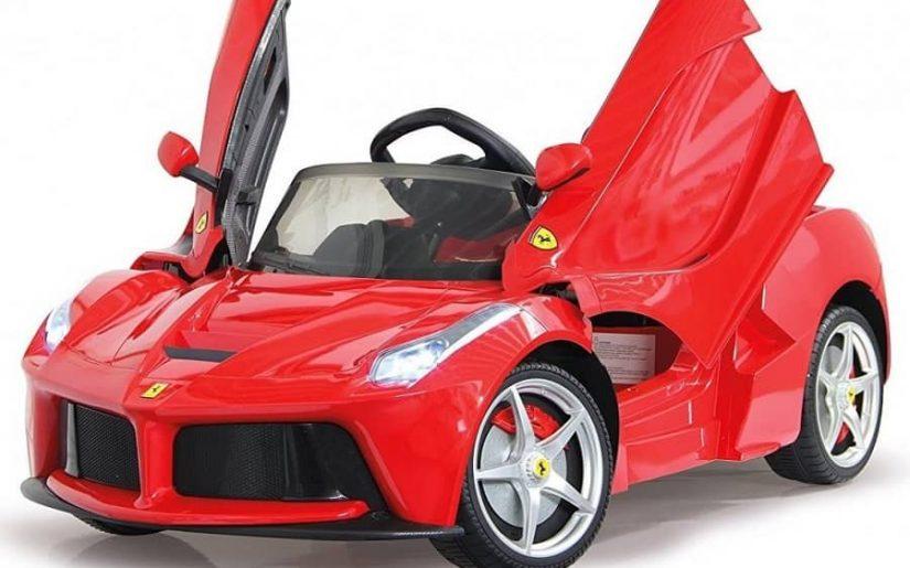 Mașina pentru copii masinuta-electrica-ferrari-laferrari-rosie-6v-cu-telecomanda-24-ghz-cu-2-viteze-148561-3