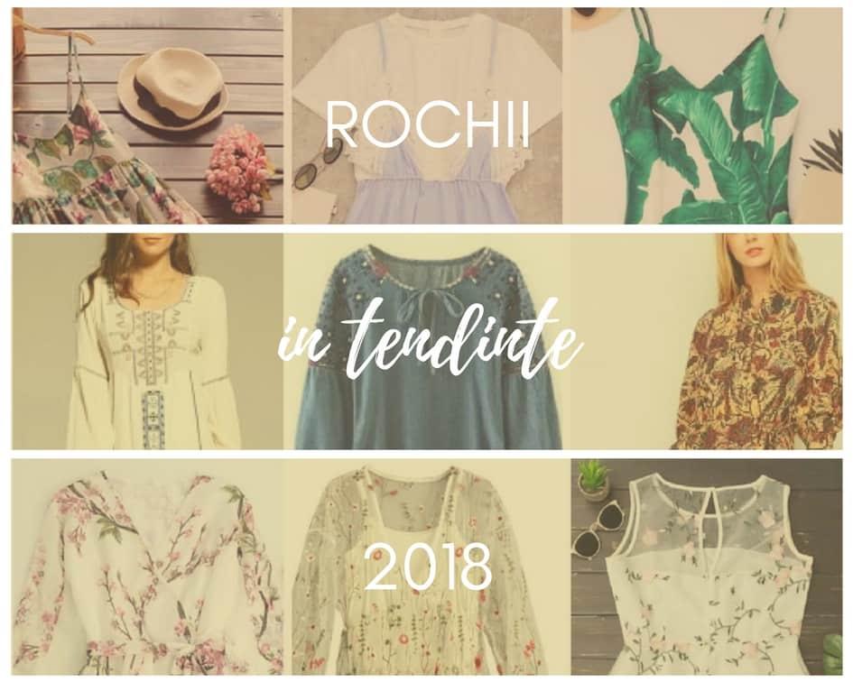 rochii la moda in 2018