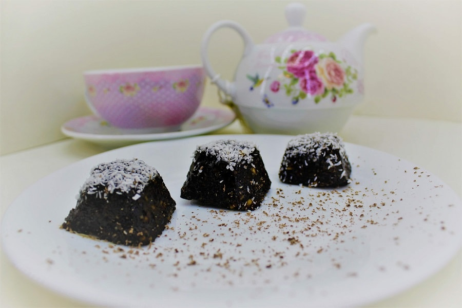 bomboane vegane de ciocolată