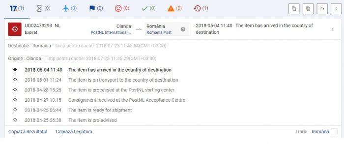 dresslily tracking number comanda