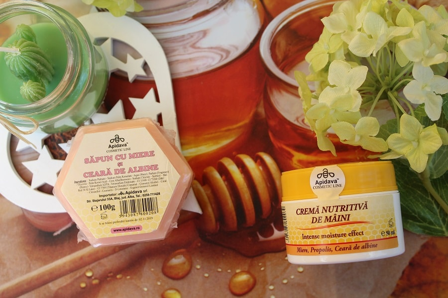 produse cosmetice cu miere de la Apidava