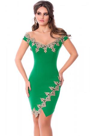 rochie de ocazie verde