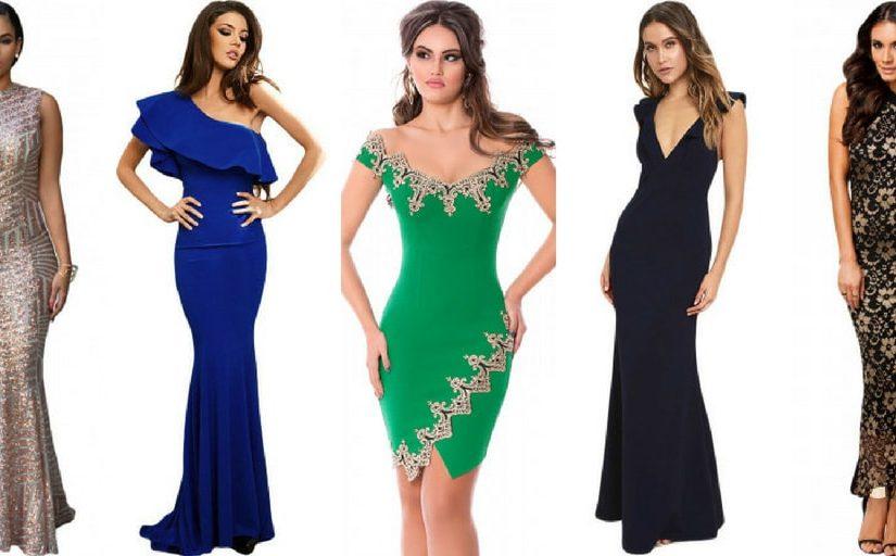 rochii de seară pentru femeile cu sanii mici