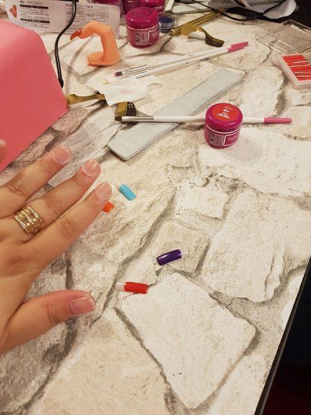 unghii cu gel