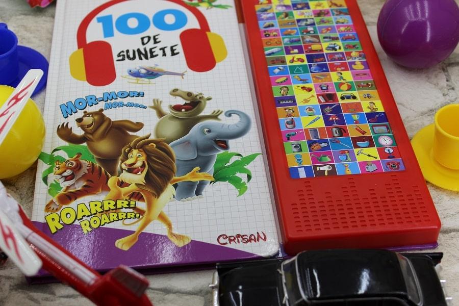 100 de sunete carte pentru copii